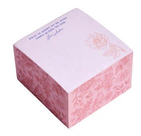 Jane Austen: What Is Right To Be Done - Memo Cube (Miniature Edition) by Insight Editions, 9781647222277
