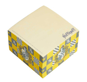 Harry Potter: Hufflepuff Memo Cube (Miniature Edition) by Insight Editions, 9781647222994