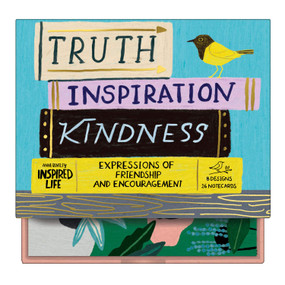 Anne Bentley Inspired Life: Truth, Inspiration, Kindness Greeting Assortment Notecards by Galison, Anne Bentley, 9780735359789