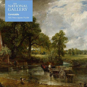 Adult Jigsaw Puzzle NG: John Constable The Hay Wain (500 pieces) (500-piece Jigsaw Puzzles) by Flame Tree Studio, 9781839647307