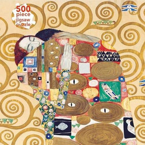 Adult Jigsaw Puzzle Gustav Klimt: Fulfilment (500 pieces) (500-piece Jigsaw Puzzles) by Flame Tree Studio, 9781839647338