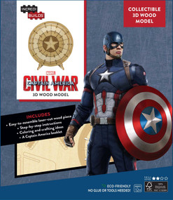 INCREDIBUILDS: MARVEL'S CAPTAIN AMERICA: CIVIL WAR DELUXE BOOK AND MODEL SET by INSIGHT EDITIONS,, 9781682980002