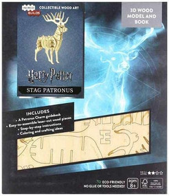 INCREDIBUILDS: HARRY POTTER: STAG PATRONUS 3D WOOD MODEL AND BOOK by INSIGHT EDITIONS,, 9781682981146