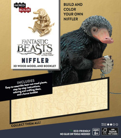 INCREDIBUILDS: FANTASTIC BEASTS AND WHERE TO FIND THEM: NIFFLER 3D WOOD MODEL AN by INSIGHT EDITIONS,, 9781682980590