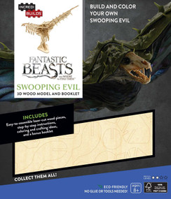 INCREDIBUILDS: FANTASTIC BEASTS AND WHERE TO FIND THEM: SWOOPING EVIL 3D WOOD MO by INSIGHT EDITIONS,, 9781682980606