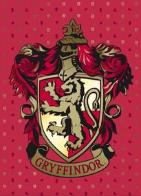 HARRY POTTER: GRYFFINDOR EMBELLISHED CARD by INSIGHT EDITIONS,, 9781682985540