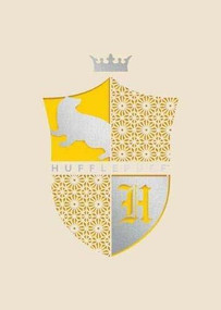 HARRY POTTER: HUFFLEPUFF LASER DIE-CUT CARD by INSIGHT EDITIONS,, 9781682986356
