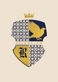 HARRY POTTER: RAVENCLAW LASER DIE-CUT CARD by INSIGHT EDITIONS,, 9781682986363