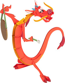 INCREDIBUILDS: DISNEY'S MULAN: MUSHU BOOK AND 3D WOOD MODEL by INSIGHT EDITIONS,, 9781682982389