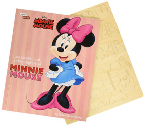 INCREDIBUILDS: DISNEY: MINNIE MOUSE BOOK AND 3D WOOD MODEL by INSIGHT EDITIONS,, 9781682980941