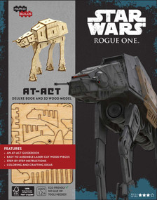 INCREDIBUILDS: STAR WARS: ROGUE ONE: AT-ACT DELUXE BOOK AND MODEL SET by MICHAEL, KOGGE, 9781682980897