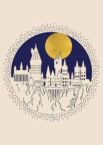 HARRY POTTER: HOGWARTS LASER DIE-CUT CARD by INSIGHT EDITIONS,, 9781682986622