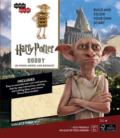 INCREDIBUILDS: HARRY POTTER: DOBBY 3D WOOD MODEL AND BOOKLET by INSIGHT EDITIONS,, 9781682980293
