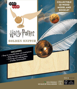 INCREDIBUILDS: HARRY POTTER: GOLDEN SNITCH 3D WOOD MODEL by INSIGHT EDITIONS,, 9781682980309