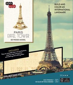 INCREDIBUILDS: PARIS: EIFFEL TOWER 3D WOOD MODEL by STERLING CASIL, AMY, 9781682980439