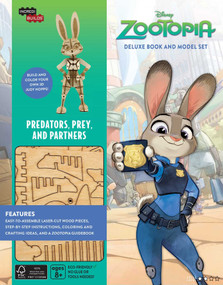 INCREDIBUILDS: DISNEY: ZOOTOPIA DELUXE BOOK AND MODEL SET by INSIGHT EDITIONS,, 9781682980743