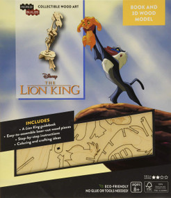 INCREDIBUILDS: DISNEY'S THE LION KING BOOK AND 3D WOOD MODEL by INSIGHT EDITIONS,, 9781682982358
