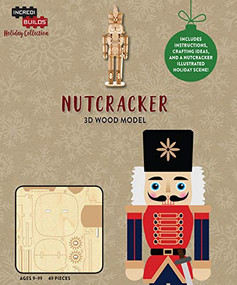 INCREDIBUILDS HOLIDAY COLLECTION: NUTCRACKER by INSIGHT EDITIONS,, 9781682981443