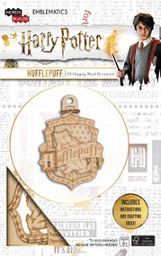INCREDIBUILDS EMBLEMATICS: HARRY POTTER: HUFFLEPUFF by INSIGHT EDITIONS,, 9781682983331