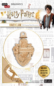 INCREDIBUILDS EMBLEMATICS: HARRY POTTER: RAVENCLAW by INSIGHT EDITIONS,, 9781682983348