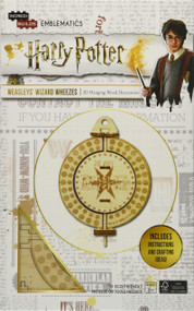 INCREDIBUILDS EMBLEMATICS: HARRY POTTER: WEASLEYS' WIZARD WHEEZES by INSIGHT EDITIONS,, 9781682984543