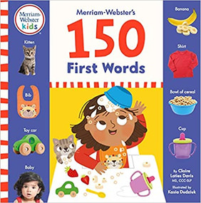 Merriam Webster's 150 First Words by Claire Laties-Davis, 9780877791171