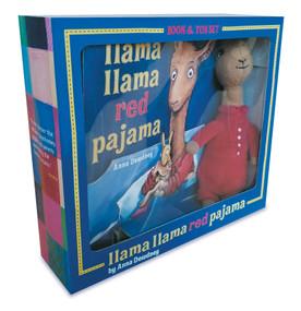 Llama Llama Red Pajama Book and Plush by Anna Dewdney, 9780593114810