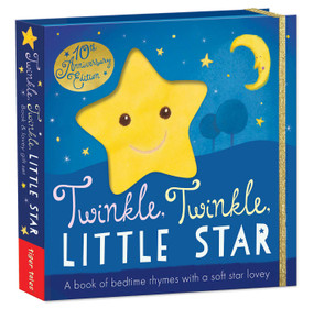 Twinkle, Twinkle, Little Star (A book of bedtime rhymes with a soft star lovey) by Tiger Tales, Sanja Rescek, 9781589252301