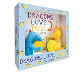 Dragons Love Tacos 2 Book and Toy Set by Adam Rubin, Daniel Salmieri, 9781984815774