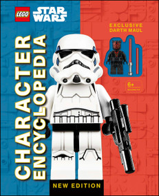 LEGO Star Wars Character Encyclopedia New Edition (with Exclusive Darth Maul Minifigure) by Elizabeth Dowsett, 9781465489562