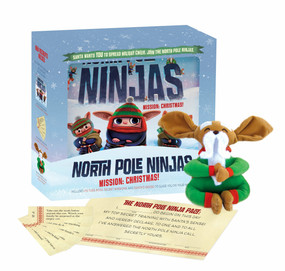 North Pole Ninjas: MISSION: Christmas! - 9780399539442 by Tyler Knott Gregson, Sarah Linden, Piper Thibodeau, 9780399539442