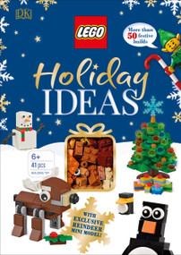 LEGO Holiday Ideas (With Exclusive Reindeer Mini Model) by DK, 9781465485779