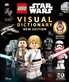 LEGO Star Wars Visual Dictionary, New Edition (With exclusive Finn minifigure) by DK, 9781465478887