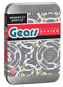 Gears Pattern Design Magnets (Miniature Edition), 602394030368