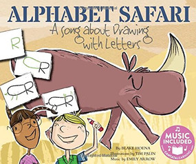 Alphabet Safari (A Song about Drawing with Letters) by Blake Hoena, Tim Palin, Emily Arrow, Emily Arrow, 9781684100095