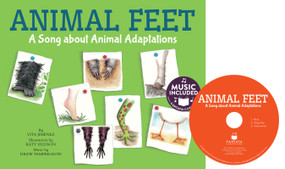 Animal Feet (A Song about Animal Adaptations) by Vita Jiménez, Katy Hudson, 9781632907639
