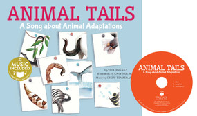 Animal Tails (A Song about Animal Adaptations) by Vita Jiménez, Katy Hudson, 9781632907653