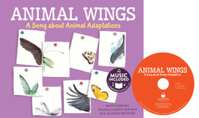 Animal Wings (A Song about Animal Adaptations) by Vita Jiménez, Katy Hudson, 9781632907660