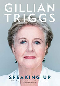Speaking Up by Gillian Triggs, 9780522873511