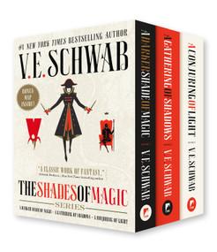 Shades of Magic Boxed Set (A Darker Shade of Magic, A Gathering of Shadows, A Conjuring of Light) by V. E. Schwab, 9781250175205