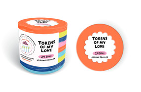 Tokens of My Love (24 Redeemable Coupons for Friends, Couples, and Families) by Jordan Sondler, 9780525574255