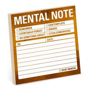Metallic Stickies: Mental Note by Knock Knock , 9781683492146