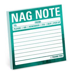 Metallic Stickies: Nag Note by Knock Knock , 9781683492177