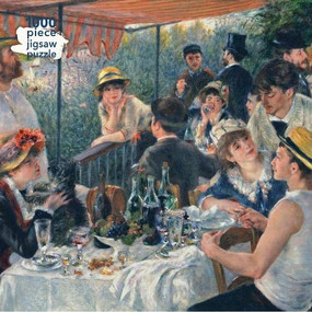Adult Jigsaw Puzzle Pierre Auguste Renoir: Luncheon of the Boating Party (1000-piece Jigsaw Puzzles) by Flame Tree Studio, 9781839648182