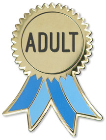 Adult Hard Enamel Pin (Miniature Edition), 9781441328441