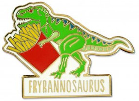 Fryannosaurus Hard Enamel Pin by , 9781441325136