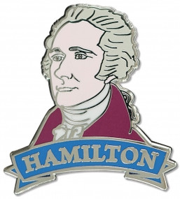Hamilton Hard Enamel Pin by , 9781441328465