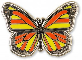 Butterfly Hard Enamel Pin by , 9781441327611