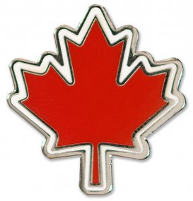 Maple Leaf Hard Enamel Pin by , 9781441324979