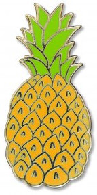 Pineapple Hard Enamel Pin by , 9781441329615